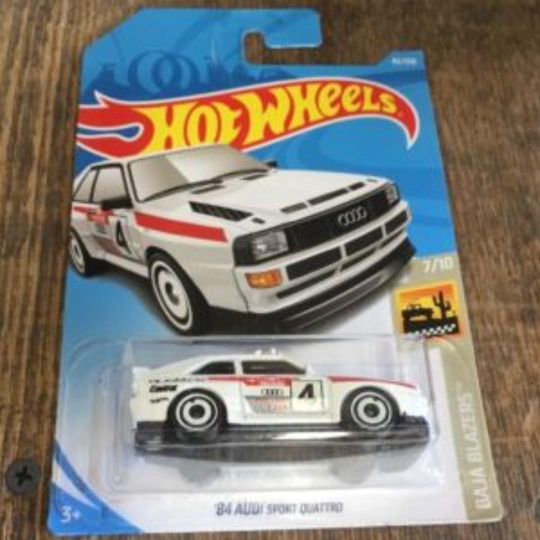 Hotwheels 2019 Baja Blazers '84 Audi Sport Quattro Rare