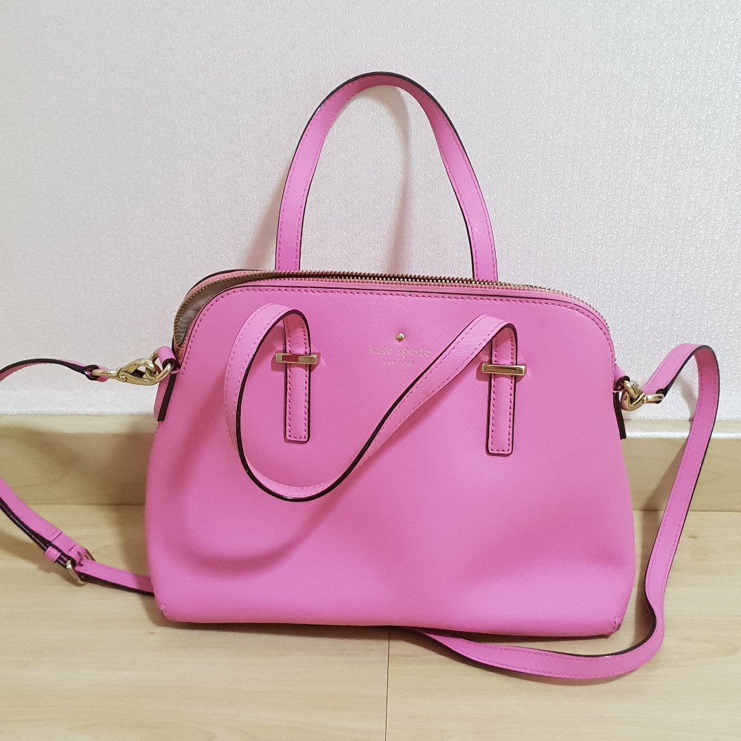 8eb205472 Kate Spade Pink Bag (authentic), Luxury, Bags & Wallets, Handbags on ...