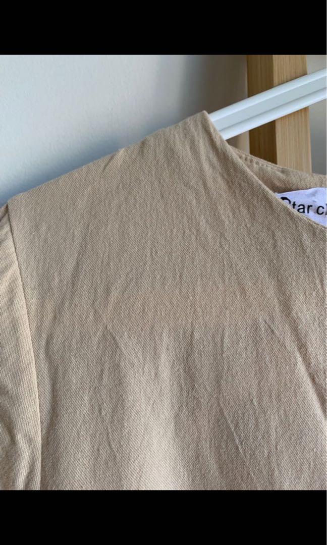 Korea Linen Dress