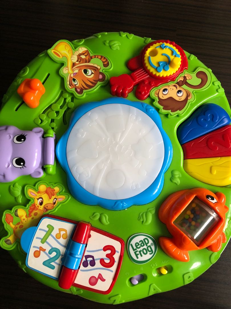 Leap Frog Activity Table Babies Kids Toys Walkers On Carousell
