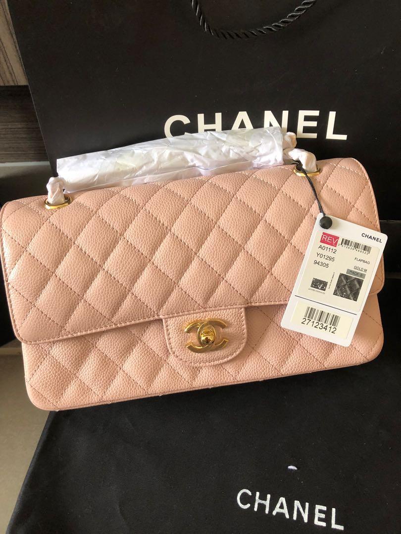Light pink bag 25cm