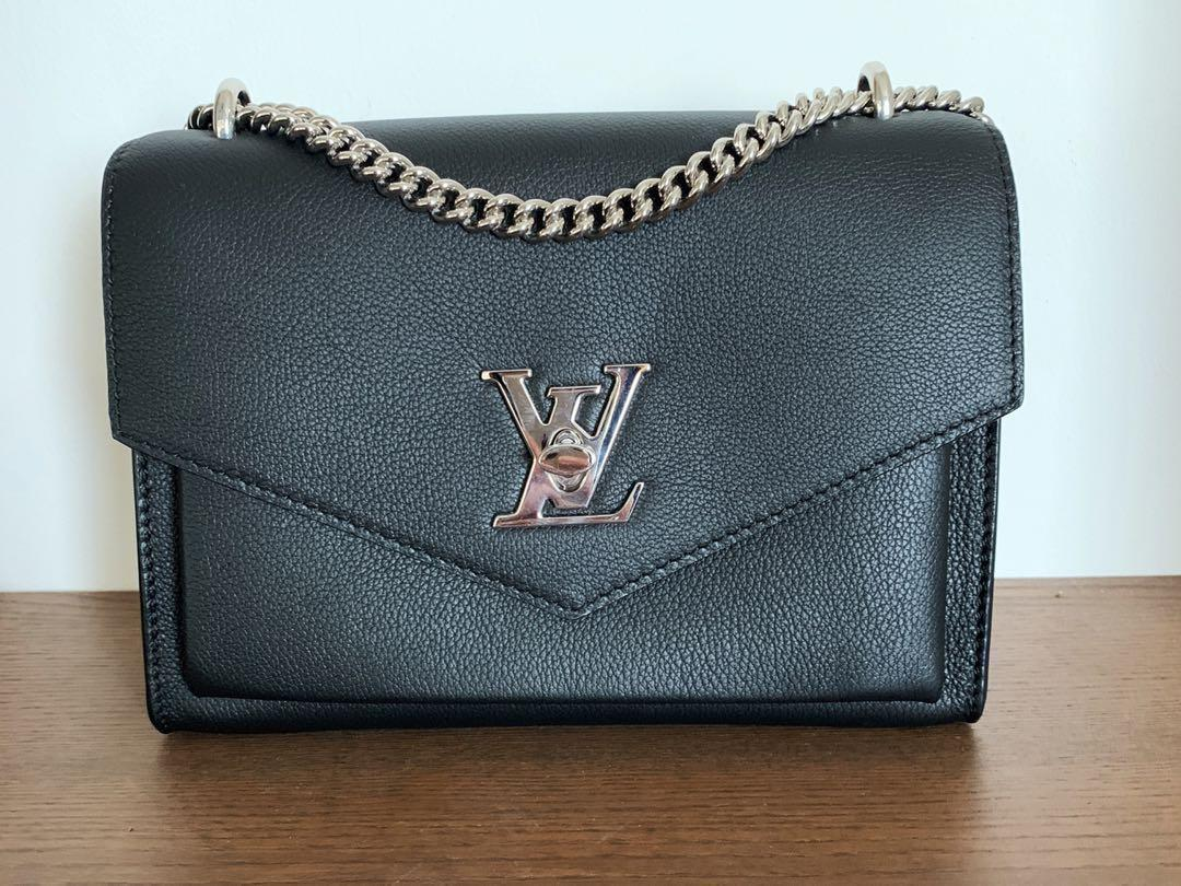 7f1634e904df LV Louis Vuitton My Lock Me BB Noir (mylockme), Luxury, Bags ...
