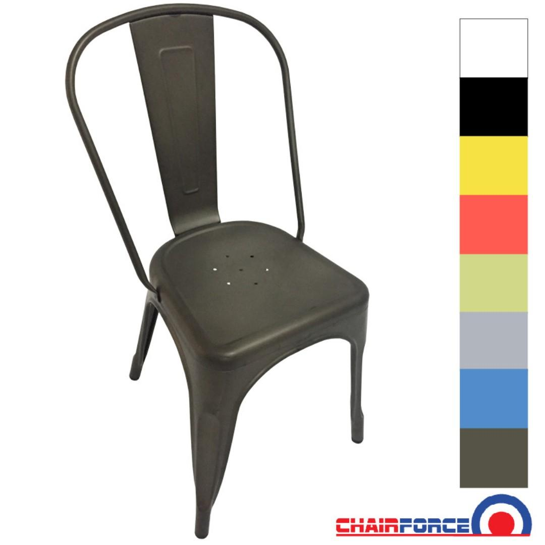 Metal Dining Chairs 9 Colours Lots Of Stock Available Now