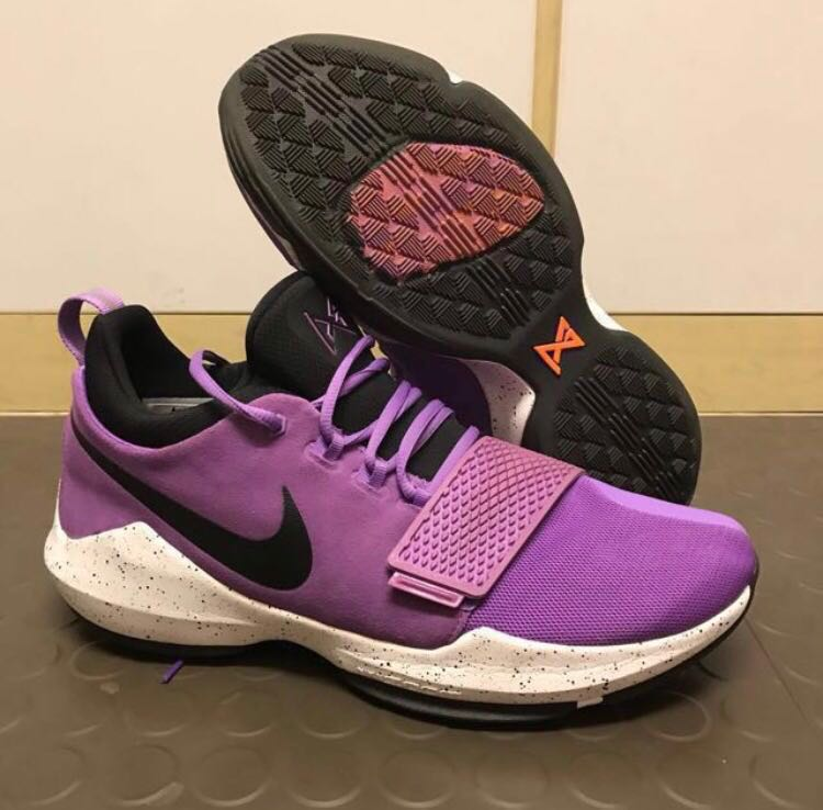 reputable site 52820 76662 Nike PG 1 Bright Violet, Men s Fashion, Footwear, Sneakers on Carousell