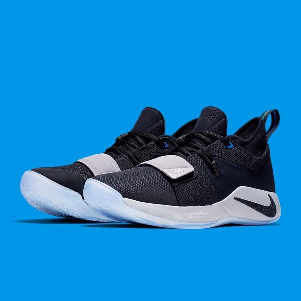 "e82ae06903dc Nike PG 2.5 Playstation PS Wolf Grey Multi-Color Paul George BQ8388-001. Paul  George PG 2.5 ""PlayStation†DEADSTOCK"