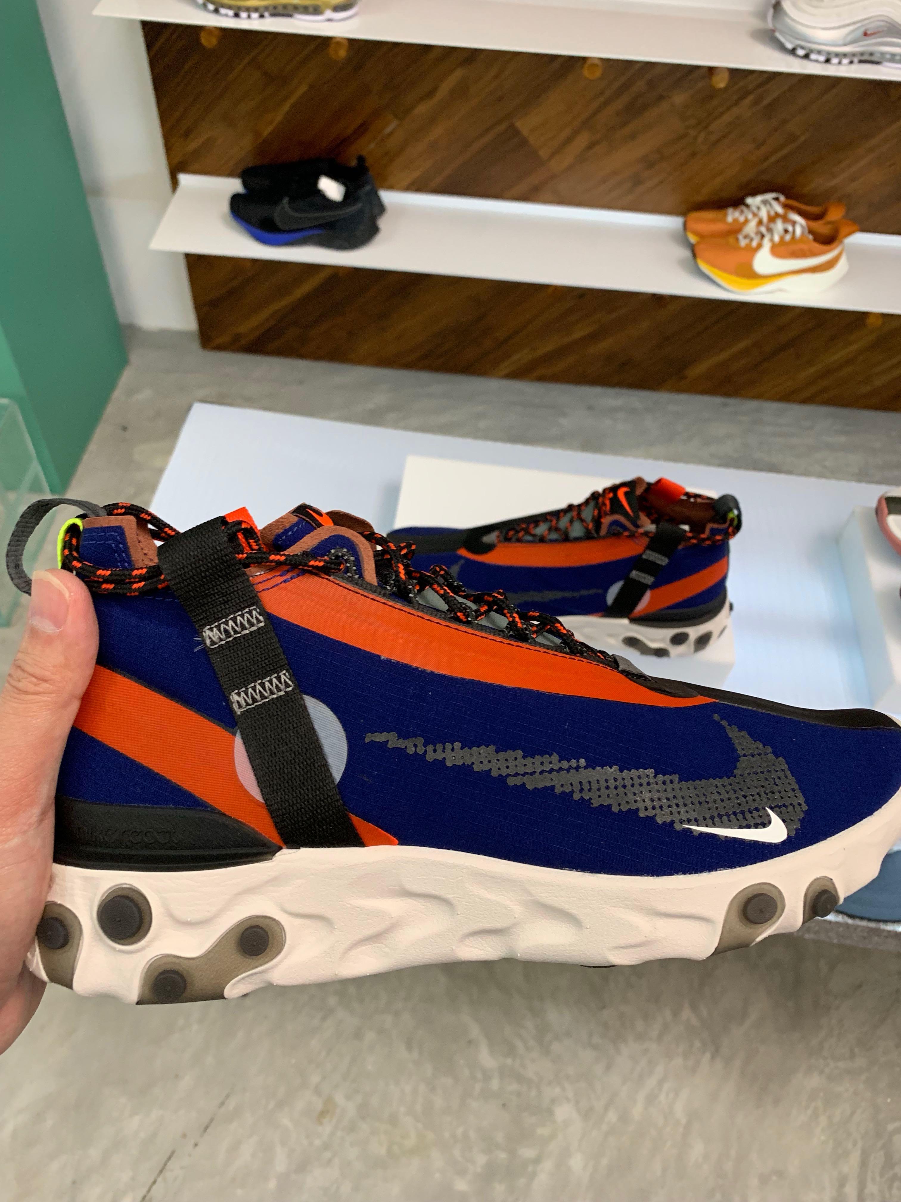 3061758282826 NIKE React Runner Mid WR ISPA Ripstop Sneakers