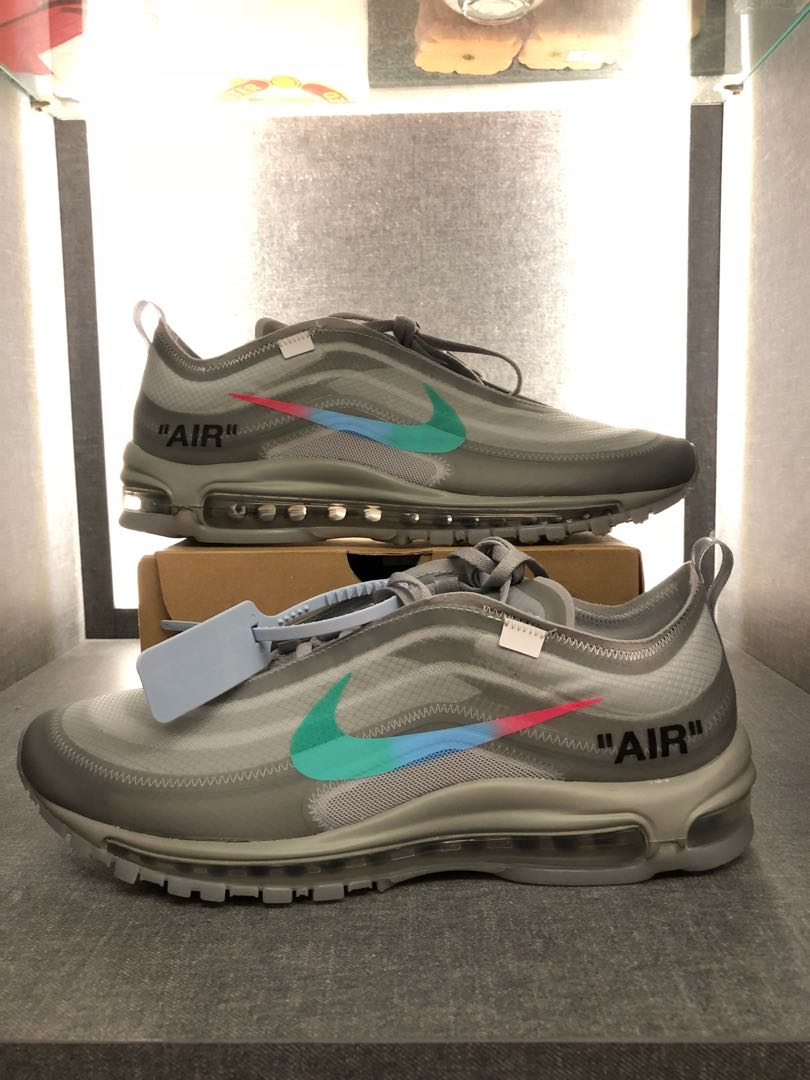 finest selection 605a0 9c7bf off white x nike air max 97 menta