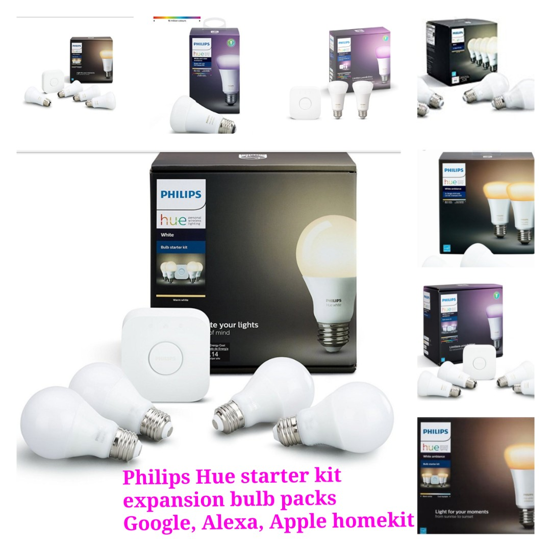 Philips Hue Starter Pack.Philips Hue Starter Pack Expansion Add On Bulbs Electronics