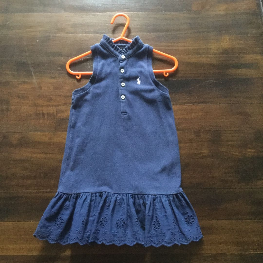 fec4659658c3 Polo Ralph Lauren Girls Dress