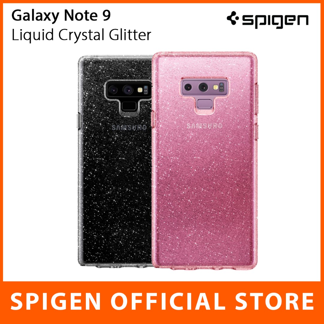 quality design 1fdb3 19d2c Spigen Galaxy Note 9 Case Liquid Crystal Glitter