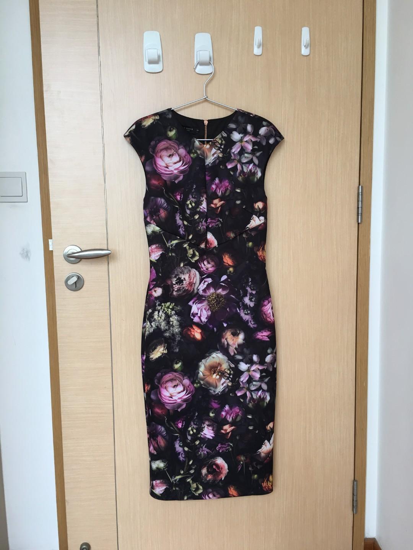 de19b8e11 TED BAKER dress size 2