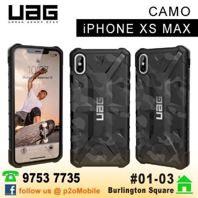 detailed look 9f2cb ca4e8 UAG PathFinder SE Camo for iPhone XS Max