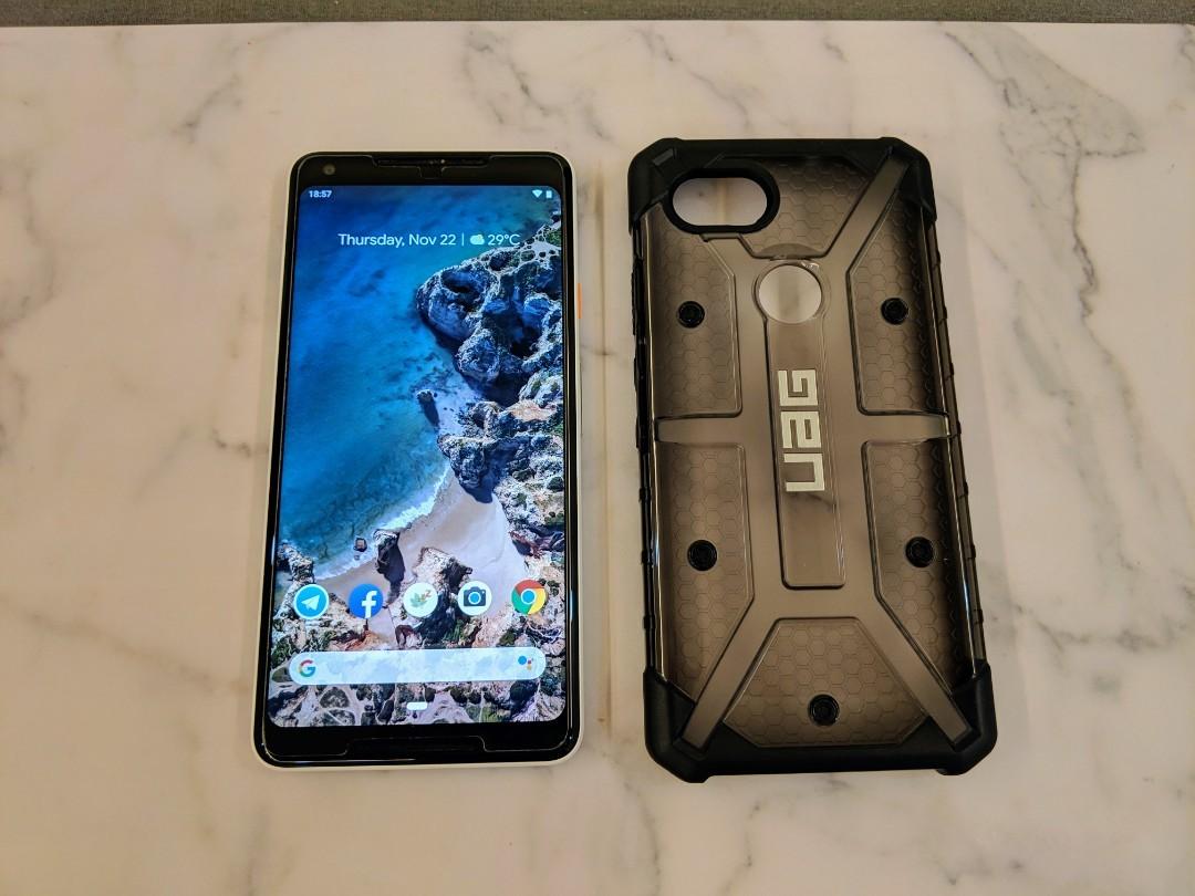 the latest ad73d e2e46 UAG Plasma (Ash) case for Pixel 2 XL for sale