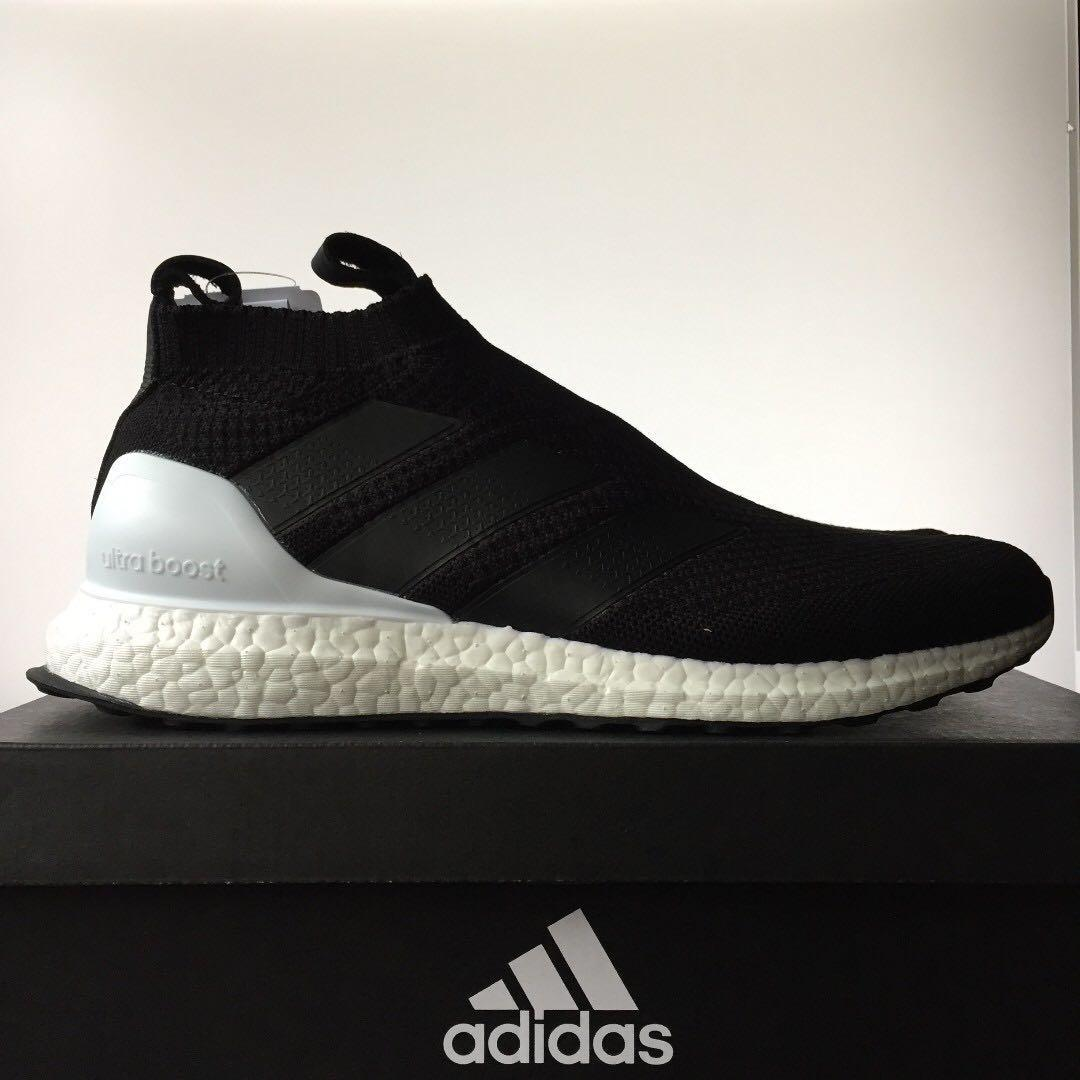 check out dd4e8 f4f13 US9 adidas A16+ Ultraboost Core Black, Men's Fashion ...