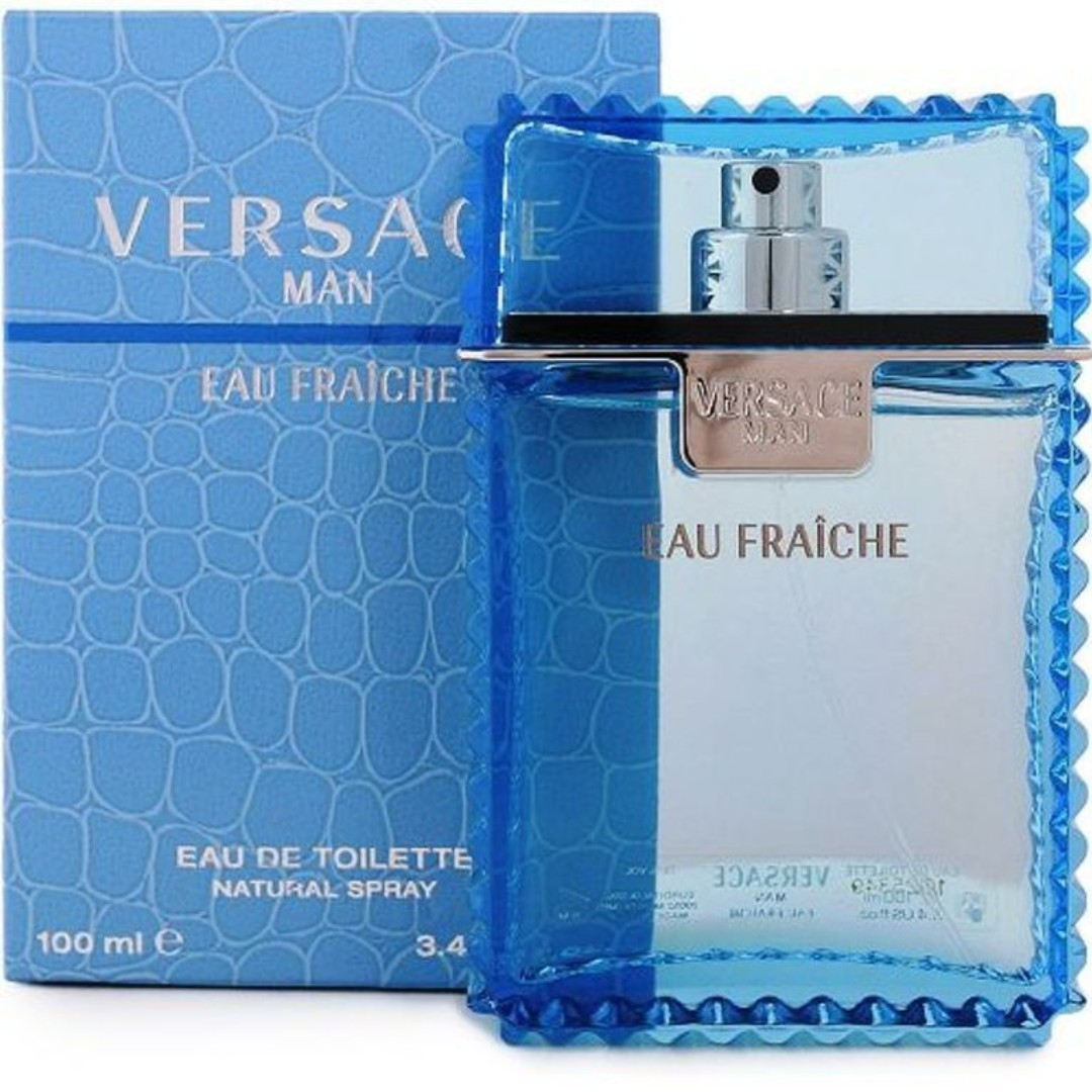 89b824ed3d VERSACE MAN EAU FRAICHE EDT 100ML, Health & Beauty, Perfumes & Deodorants  on Carousell