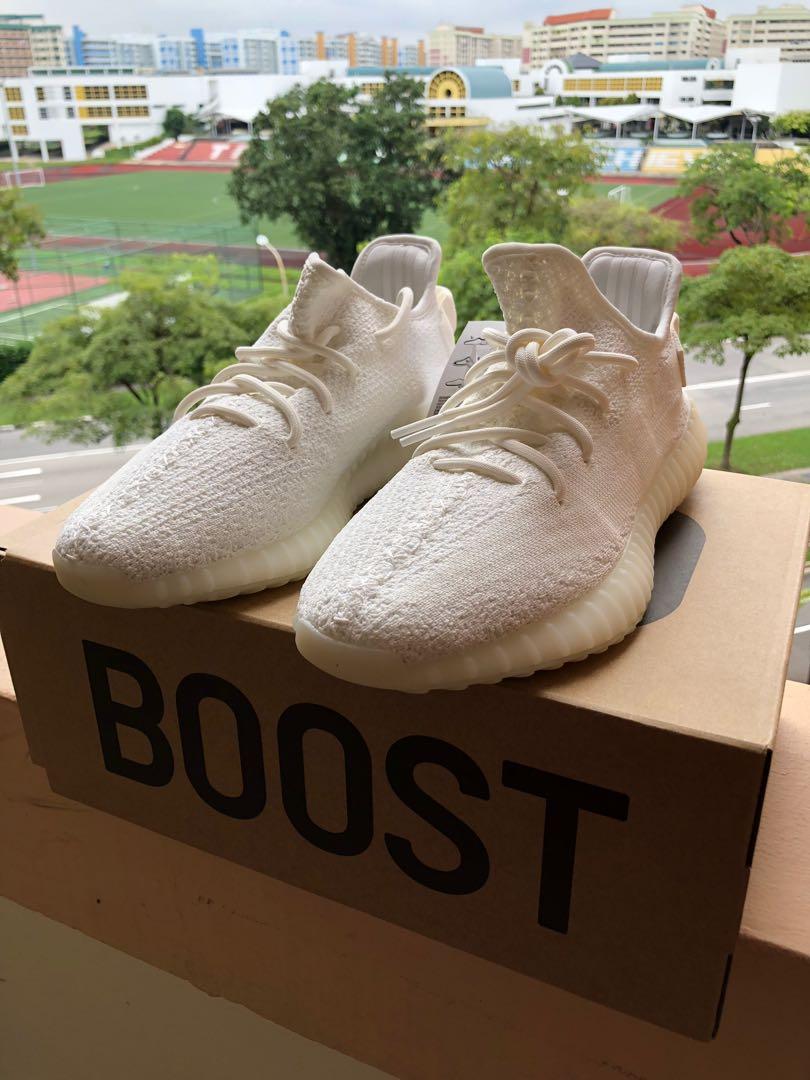 1d3f679d960eb Yeezy Boost 350 V2 Cream White US9 UK8.5