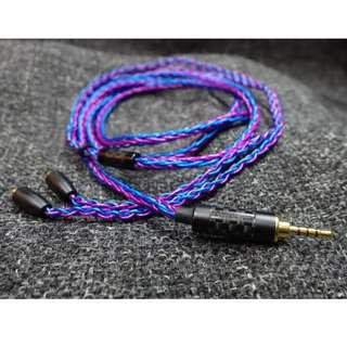 clearance - 8 wire SPC blue/purple cable