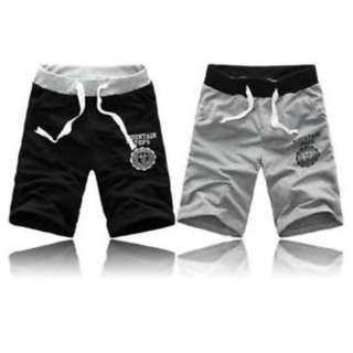 2 X Men Casual Sports Wear Shorts Pants (Black)