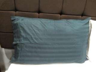 Royal green pillow sheets
