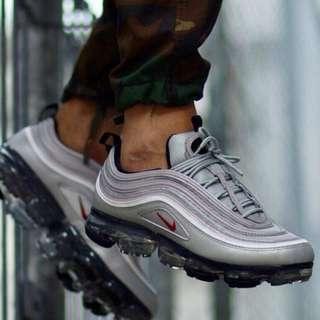 [US8.5] NIKE Vapormax 97 Silver Bullet Sneakers