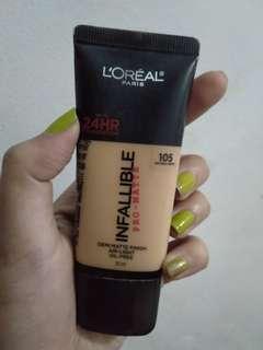Loreal Infallible Pro Matte 105