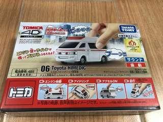 全新 Tomica 4D 06 Toyota Himedic 豐田 1/64 救護車