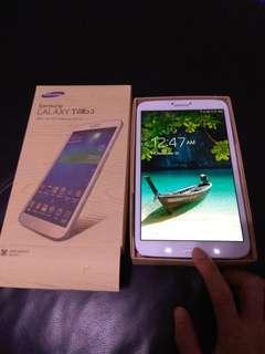 New new Samsung Galaxy Tab 3 wifi 8 inches