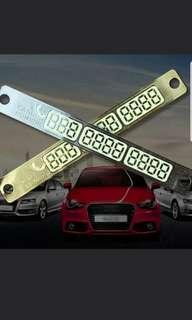 Car Tel Plate