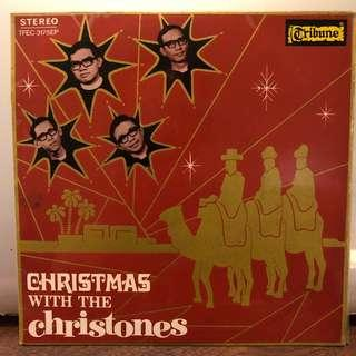 "Christones -Christmas EP 60's Singapore Local Band 7"" X'mas Record Vinyl not LP"