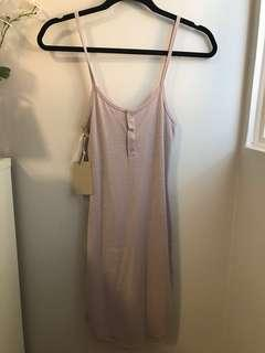 Lilac Aritzia Mcculley Dress