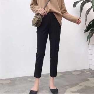 🚚 高腰顯瘦西裝褲