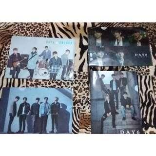 DAY6 Japanese 4 clear file (A4 size)