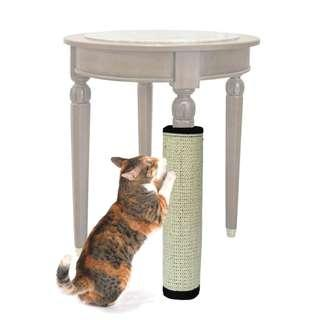 Cat scratch post pole, furniture protect kitten toy, not cage carrier condo tree cage food bowl