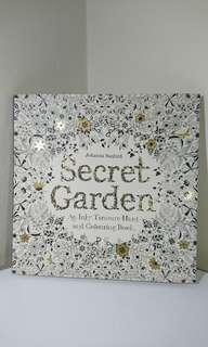 Secret Garden coulouring book