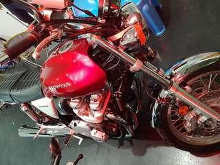 Motorbike consignment services