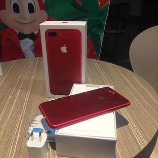 iPhone 7Plus 128gb Red edition FU and NTC Approved.