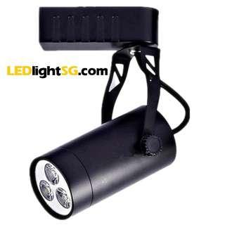 LED Track Spot Light 3W 1yr Warranty ( White / Warm White ) Taiwan Chip and Driver Lamp