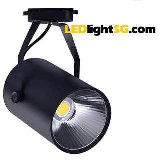 LED COB Track Spot Light Lamp 7W Taiwan Chipset 1 year warranty (White / Warm White)