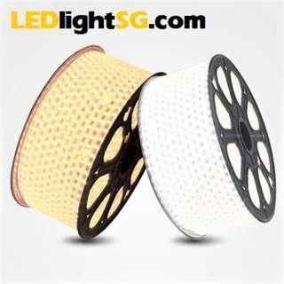 LED Strip Rope Light Waterproof IP67 outdoor indoor 220V (White / Warm white) Premium Quality