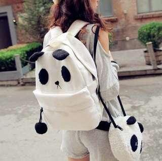 2in1 Panda Backpack and Sling