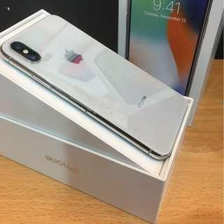 FOR SALE! iPhone X 256GB (SILVER)
