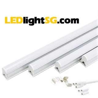 T5 LED tube set 2in1 4ft 1.2m 120cm. 1yr warranty Plug & Play (white/warm white) Cove Light L Box lighting