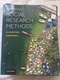 Social research methods textbook