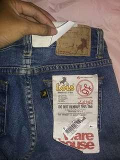 Celana pendek LOIS ORI UK 27 Nego sampai jadi