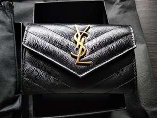 saint laurent ysl small monogram wallet