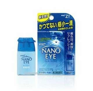 Rohto lychee NANO EYE DROPS Medicated cooling effect