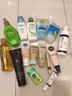 Skin and hair care bundle