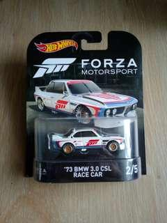 Hot Wheels Forza '73 BMW 3.0 CSL Race Car (last piece)