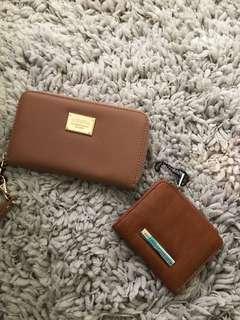 Colette purse + coin purse