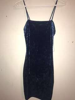Blue Velvet Fashionova dress